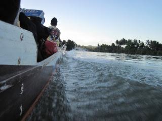 Risalendo il Gandara River