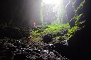 Foto 1 - Alla base del sotano di Sulpan Cave.