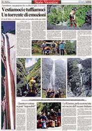 08-03-2006 Il Giornale di Vicenza-Un torrente di emozioni.